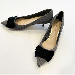 ZARA Basic Collection - Square Mid-Heeled Pumps